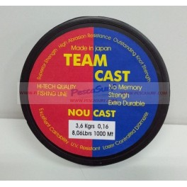 HILO NOU CAST TEAM CAST 1000 m.